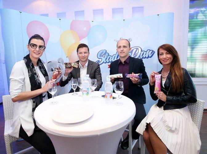 Antonija Tomić, Dario Vrabec, Vedran Prajdić i Mirna Arapović