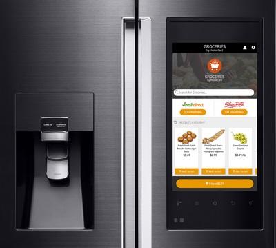 Aplikacija Groceries by MasterCard