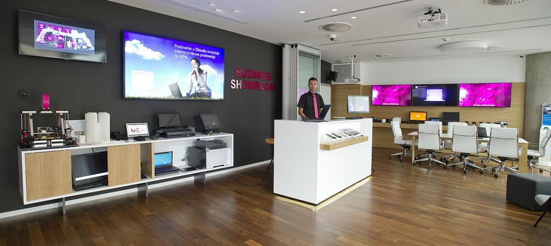 Hrvatski telekom - business showroom