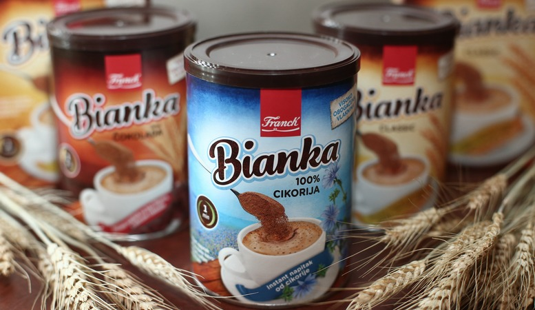 Bianka 100% Cikorija, Bianka Classic i Bianka ¼okolada