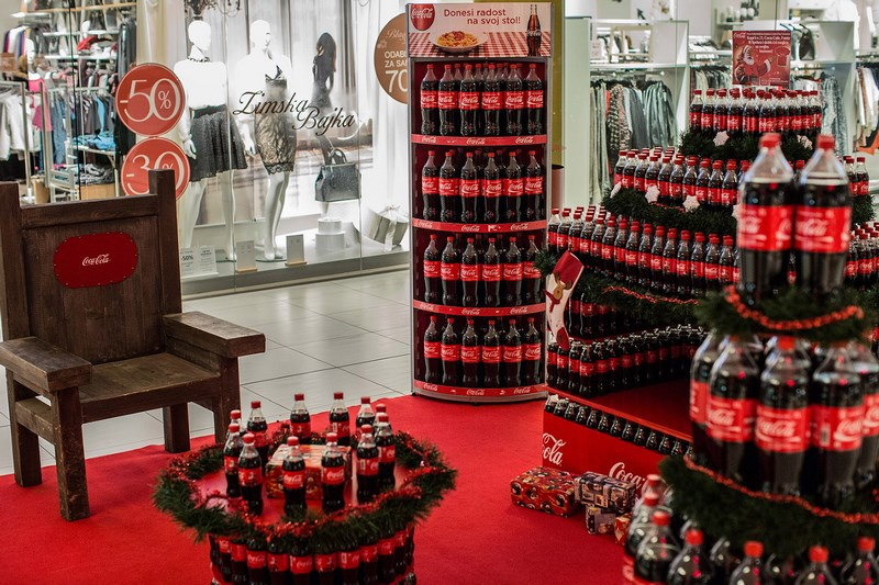Coca-Cola HBC Hrvatska pripremila je pravu božićnu čaroliju u Slavonskome Brodu