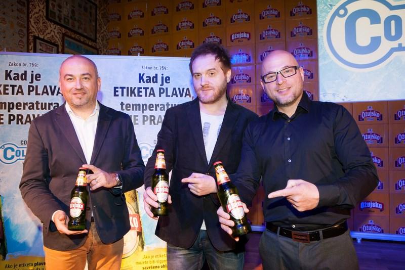 Darko Ivancevic, Almir Okanovic i Rene Bitorajac