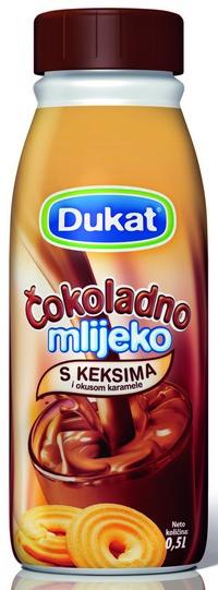 Dukat ƒokoladno mlijeko s keksima i okusom karamele_1