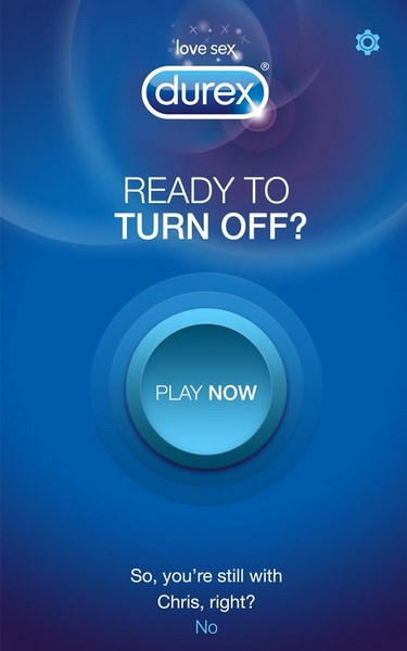 Durex Ready to TURN OFF