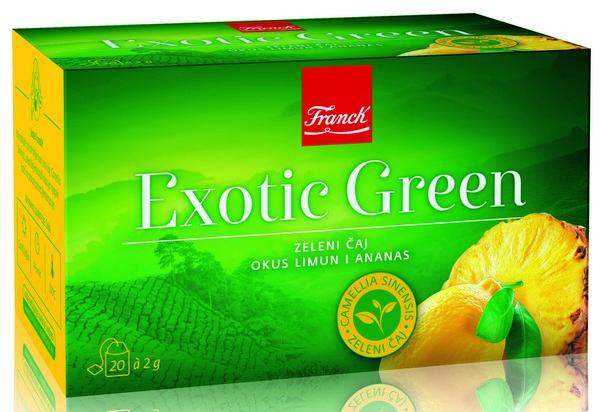 Filter caj Exotic Green