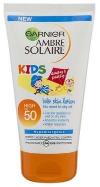 Garnier_amber_solaire_KIDS_wet_skin_lotion_50_high