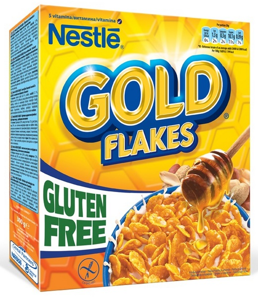 Gold Flakes  Gluten Free