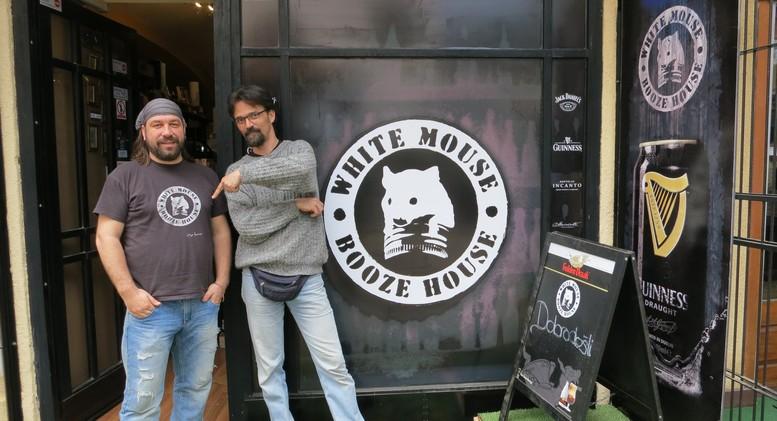 white mouse booze house- ksenije reljic
