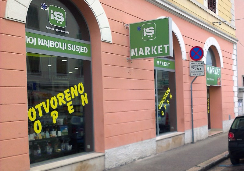 Istarski supermarketi Porecanka Porec 001