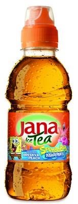Jana Ice Tea Breskva Spuzva Bob 025 PET