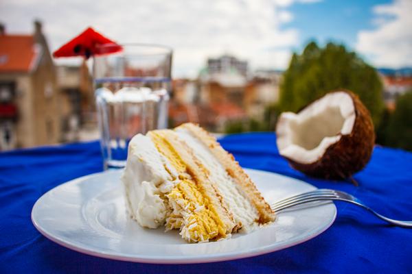 Kokos torta foto 1