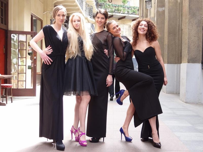 Kristina Culjak, Monika Catakovic, Antonia Knezevic, Lucija Slivar i Antonela Pripuz