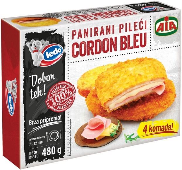 LEDO PILECI CORDON BLEU 480g