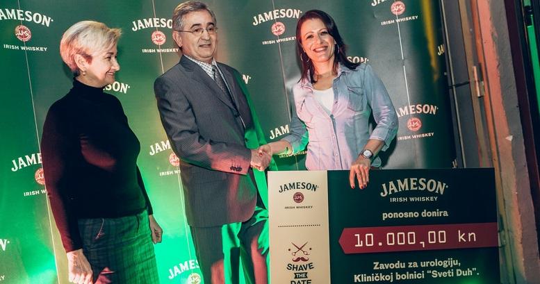 Ljubenka Jakopec(glavna sestra Sveti Duh),dr. Berislav Maºuran(Sveti Duh), Marjana Radoviå(brand manager Jameson)