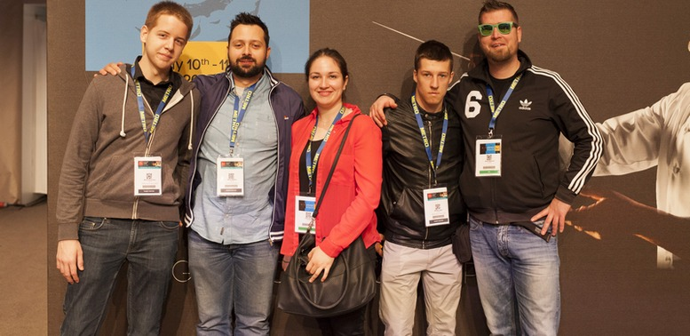Marin, Mario Mihelj, Tina, Matija, Ante Udovicic