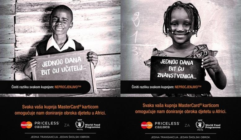 MasterCard-Priceless Causes