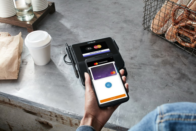 Masterpass Contactless at Cafe