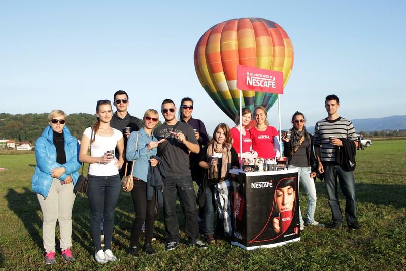 NESCAFÉ 3in1 nagradio vjerne potrošače letom u balonu (3)