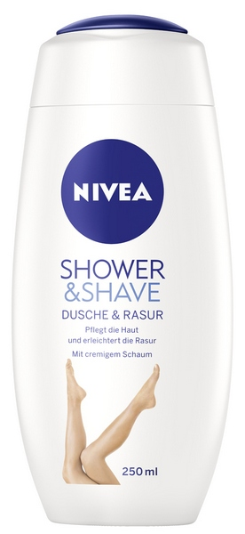 NIVEA Shower & Shave Dusche gel