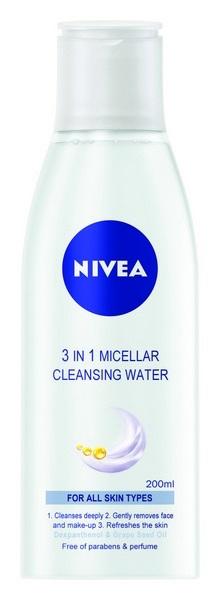NIVEA micellar cleansing water