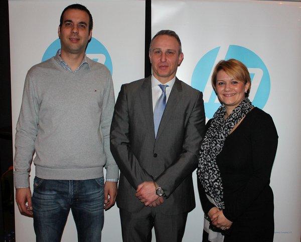 Nikola Puljiz, Primoz Polajnar, Elena Andonovska
