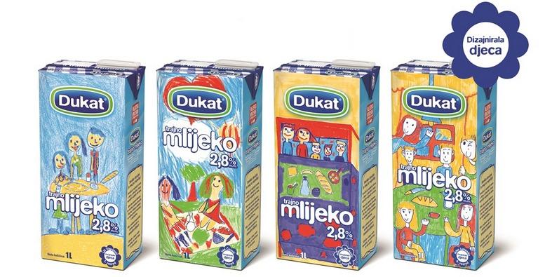 Ograniceno izdanje pakiranja Dukat trajnog mlijeka_vizual