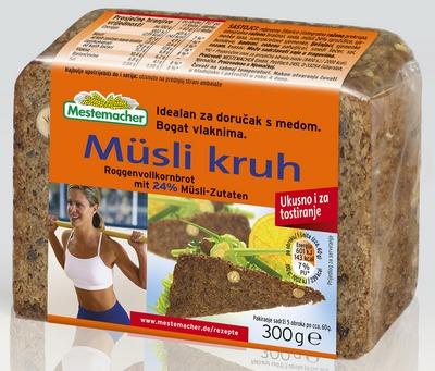Pack shot Musli kruh