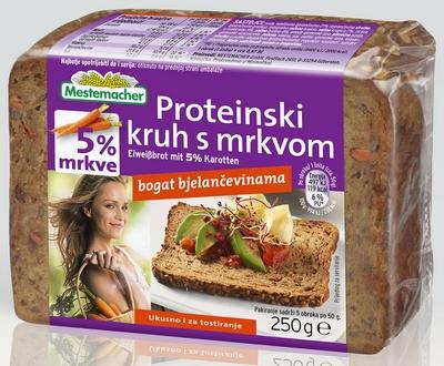 Pack shot Proteinski s mrkvom