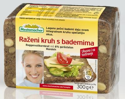 Pack shot Razeni s bademima