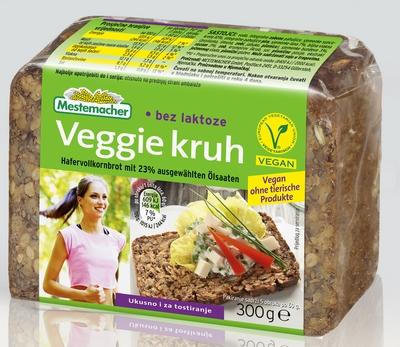 Pack shot Veggie kruh