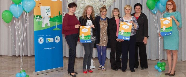 Pobjednici Eko paket natjeƒaja i ambasadorica projekta Iva µulentiå
