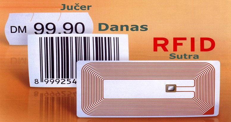 RFID jucer, danas, sutra
