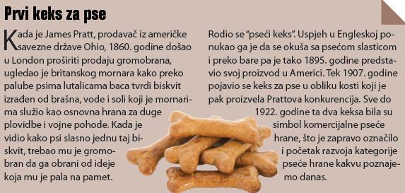 okvir - prvi keks za pse