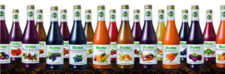 Biotta-Sortiment
