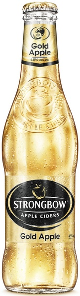 Strongbow bottle Gold
