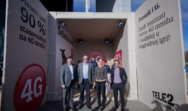 Viktor Pavlinic, Johan Bergström, Malin Holmberg i Adrian Garrett