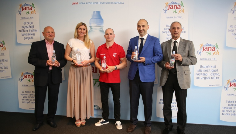 Zlatko Matesa, Janica Kostelic, Filip Ude, Mislav Galic, Josip ¨