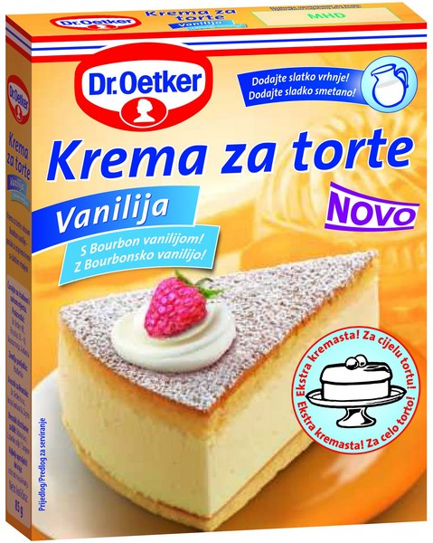 dr oetker kreme za torte sa slatkim vrhnjem ja trgovac. Black Bedroom Furniture Sets. Home Design Ideas