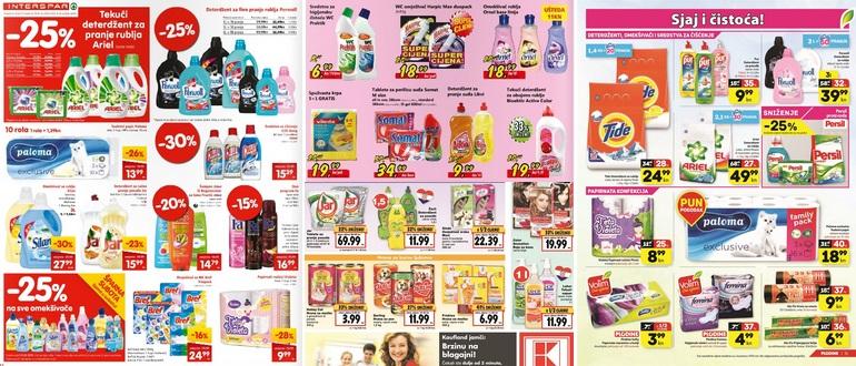 leaflet sredstva za pranje posuđa