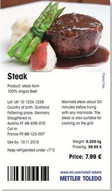 mettler toledo označavanje mesa midi