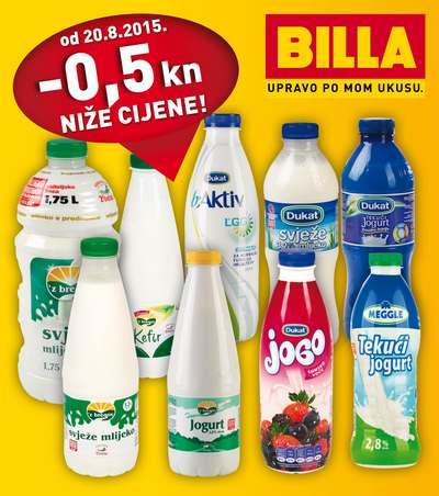 snizenje cijena mlijeka