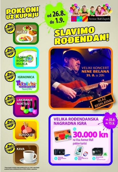 avenue mall slavi rođendan Avenue Mall Zagreb slavi rođendan | Ja TRGOVAC avenue mall slavi rođendan